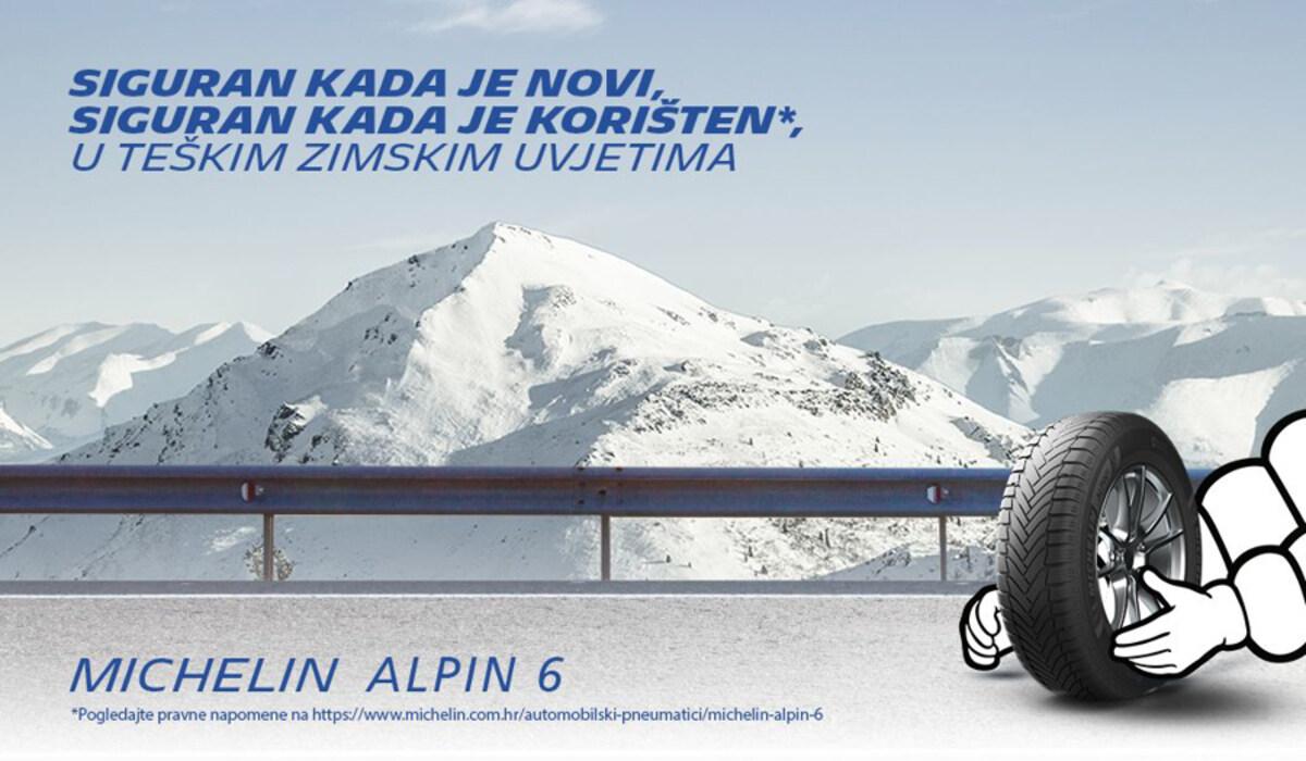 Novi Michelin Alpin 6 - Siguran kada je nov, siguran kada je korišten