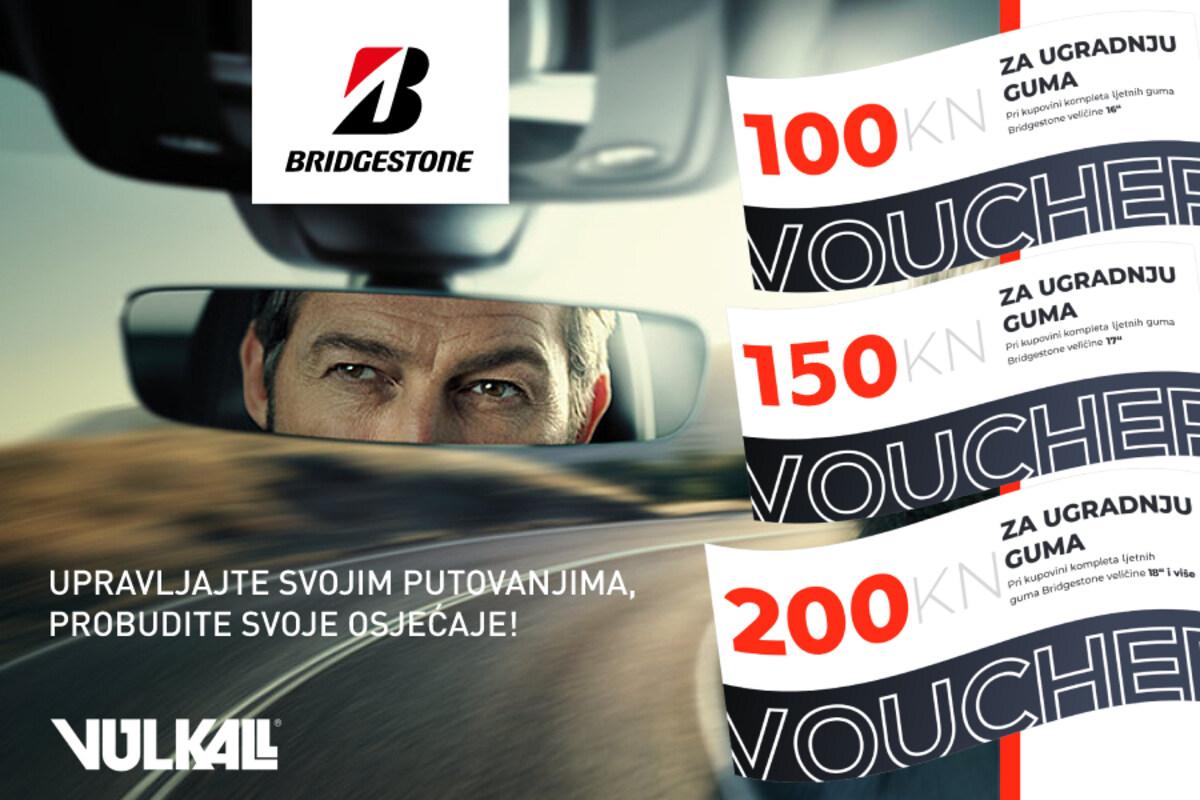 VOZI KAO PRVAK: Povoljnije do pobjedničkih Bridgestone guma